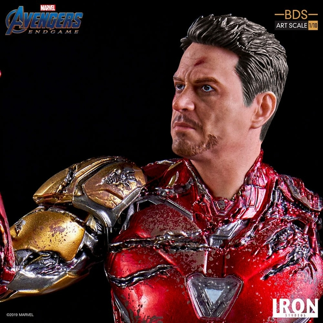 Statuette Avengers Endgame BDS Art Scale I am Iron Man 15cm 1001 figurines (12)