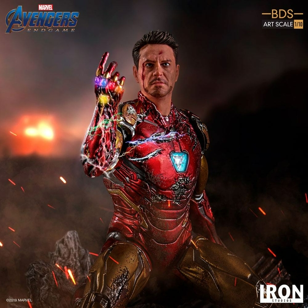 Statuette Avengers Endgame BDS Art Scale I am Iron Man 15cm 1001 figurines (15)