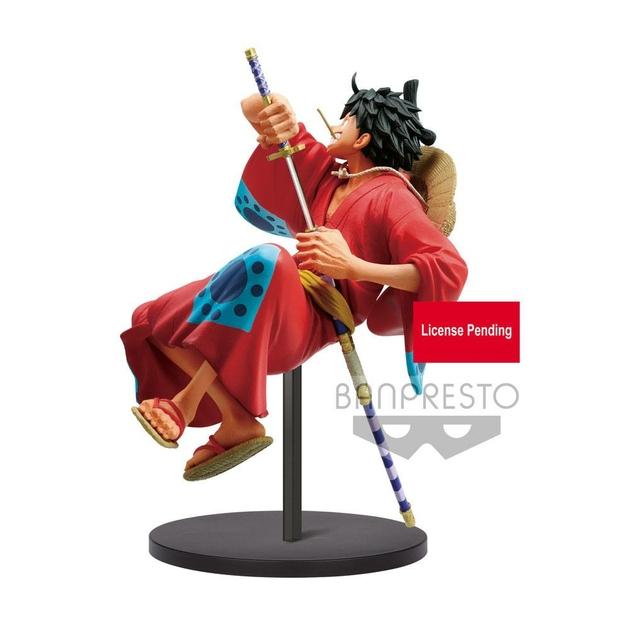 Statuette One Piece King Of Artist Monkey D. Luffy Wanokuni 16cm 1001 figurines (2)