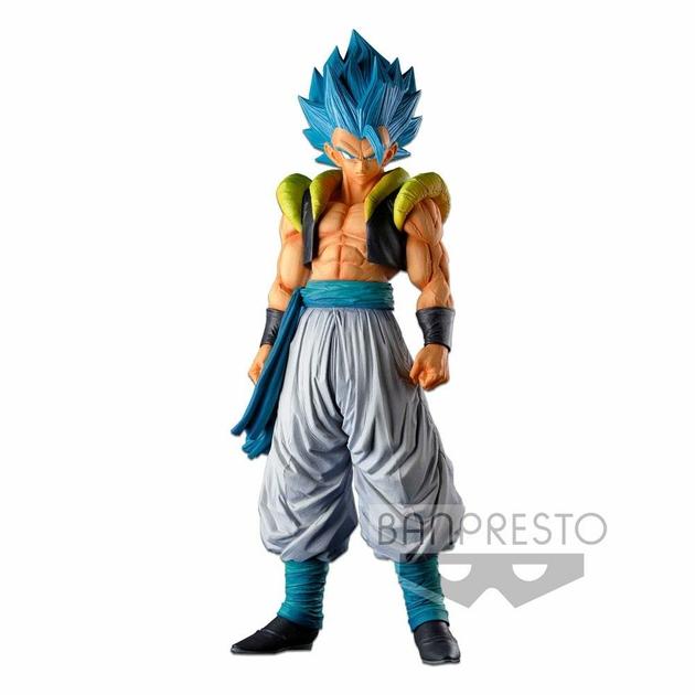 Statuette Dragon Ball Super Super Master Stars Piece Super Saiyan Blue Gogeta 34cm 1001 Figurines