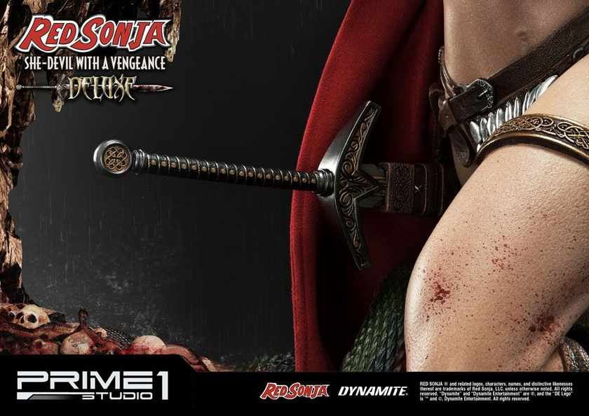 Statue Red Sonja She-Devil with a Vengeance Deluxe Version 79 cm 1001 Figurines (11)