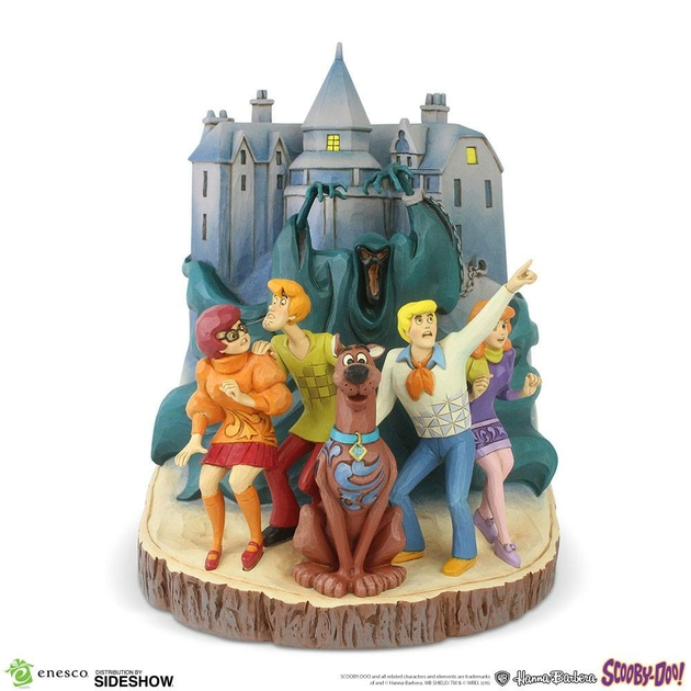 Statuette Scooby-Doo Carved by Heart 23cm 1001 figurines (2)