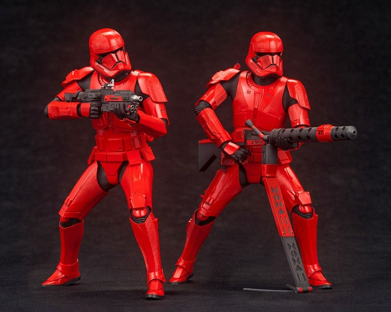 Pack 2 Statuettes Star Wars Episode IX ARTFX+ Sith Troopers 15cm 1001 Figurines (1)