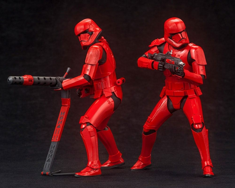 Pack 2 Statuettes Star Wars Episode IX ARTFX+ Sith Troopers 15cm 1001 Figurines (2)
