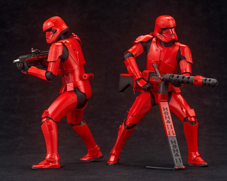Pack 2 Statuettes Star Wars Episode IX ARTFX+ Sith Troopers 15cm 1001 Figurines (3)