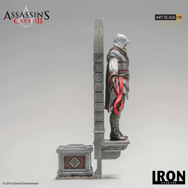 Statuette Assassins Creed II Art Scale Ezio Auditore Deluxe 31cm 1001 figurines (2)