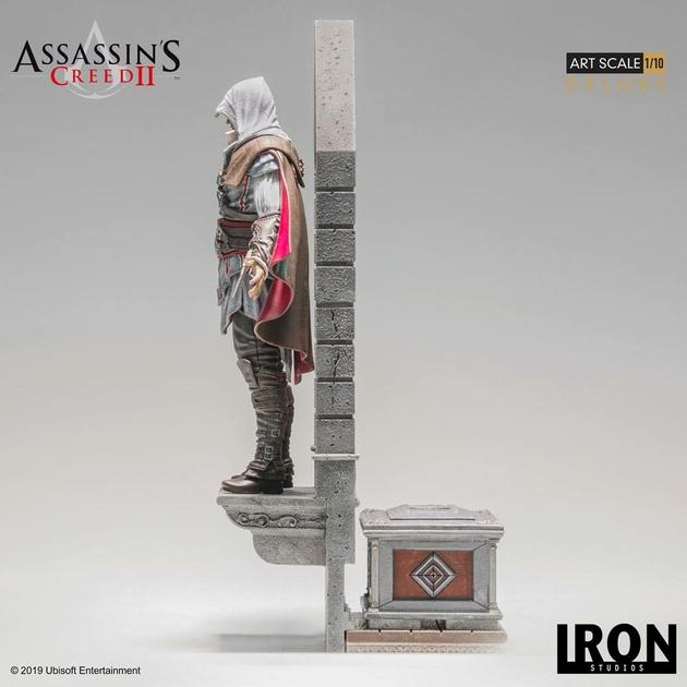Statuette Assassins Creed II Art Scale Ezio Auditore Deluxe 31cm 1001 figurines (4)