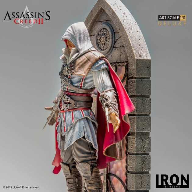 Statuette Assassins Creed II Art Scale Ezio Auditore Deluxe 31cm 1001 figurines (5)