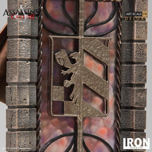 Statuette Assassins Creed II Art Scale Ezio Auditore Deluxe 31cm 1001 figurines (8)