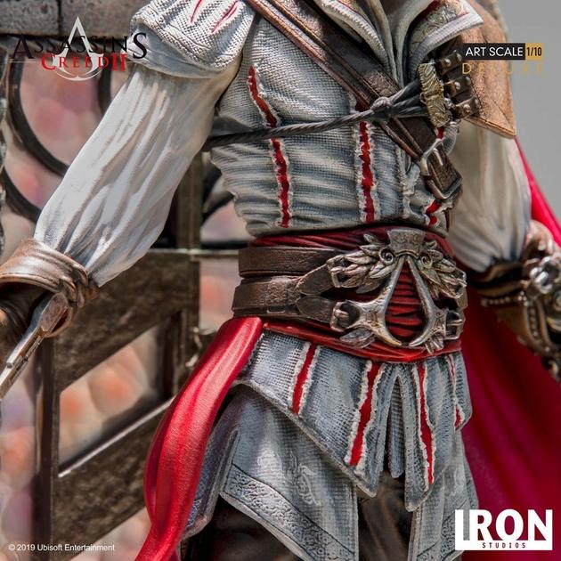 Statuette Assassins Creed II Art Scale Ezio Auditore Deluxe 31cm 1001 figurines (9)