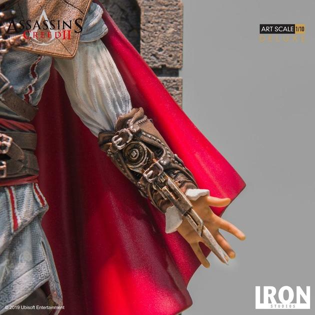 Statuette Assassins Creed II Art Scale Ezio Auditore Deluxe 31cm 1001 figurines (10)