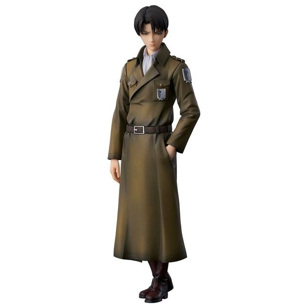 Statuette Attack on Titan Levi Coat Style 22cm 1001 fIGURINES (1)