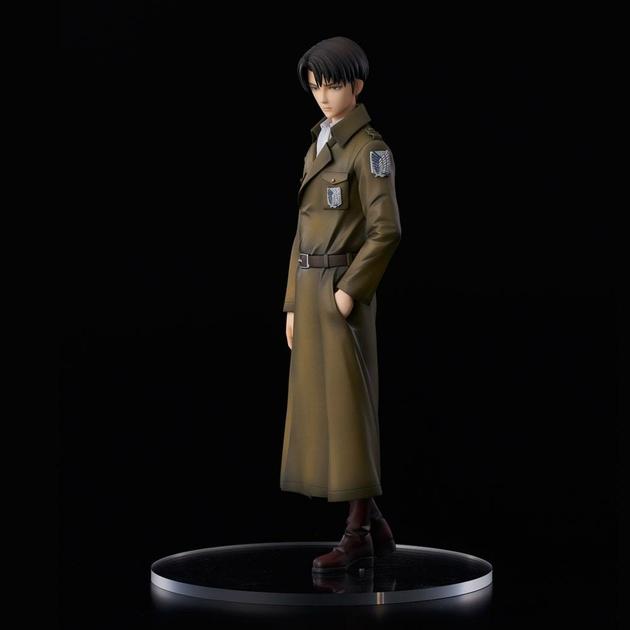 Statuette Attack on Titan Levi Coat Style 22cm 1001 fIGURINES (2)