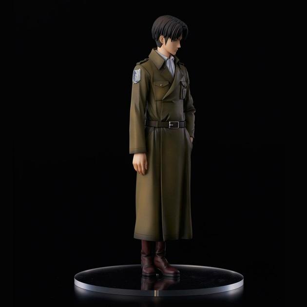 Statuette Attack on Titan Levi Coat Style 22cm 1001 fIGURINES (6)