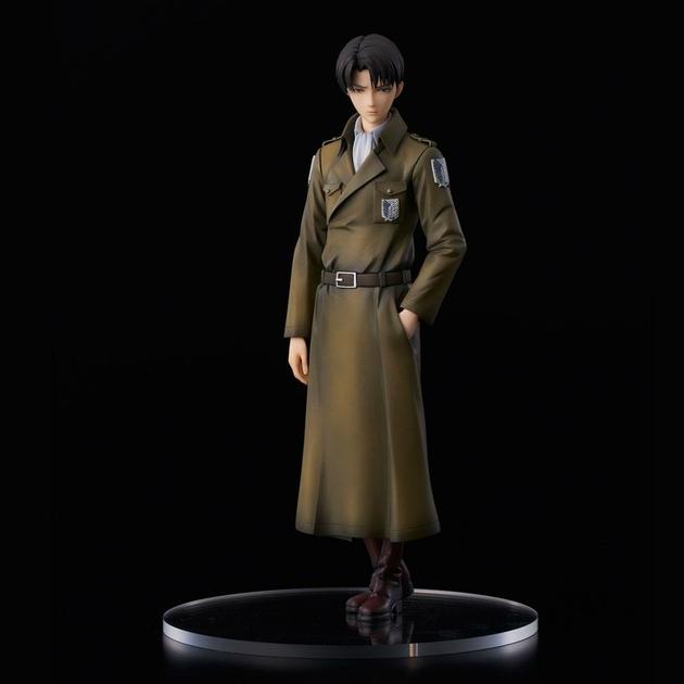 Statuette Attack on Titan Levi Coat Style 22cm 1001 fIGURINES (7)