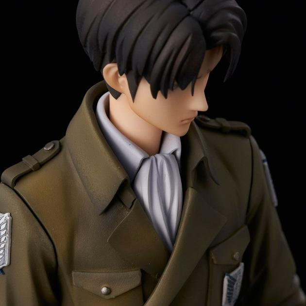 Statuette Attack on Titan Levi Coat Style 22cm 1001 fIGURINES (12)