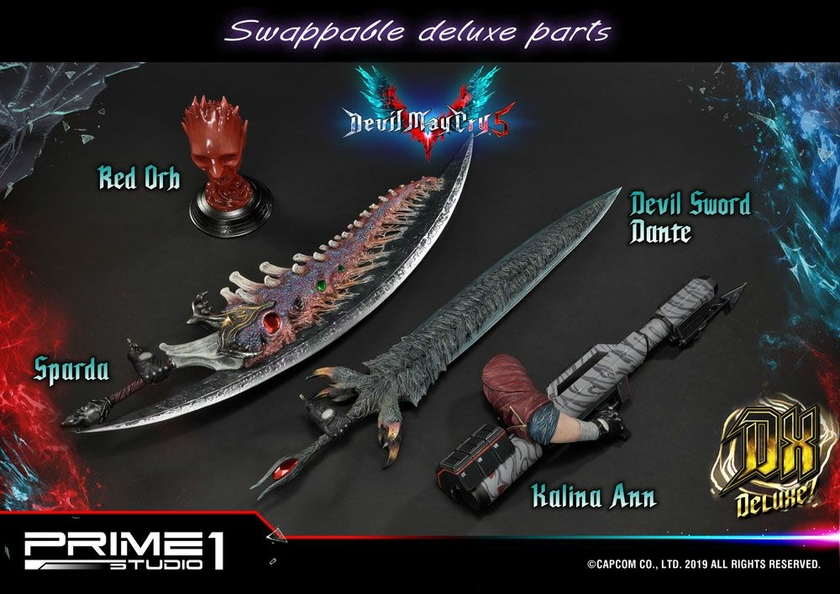 Statue Devil May Cry 5 Dante Deluxe Ver. 74cm 1001 Figurines (15)