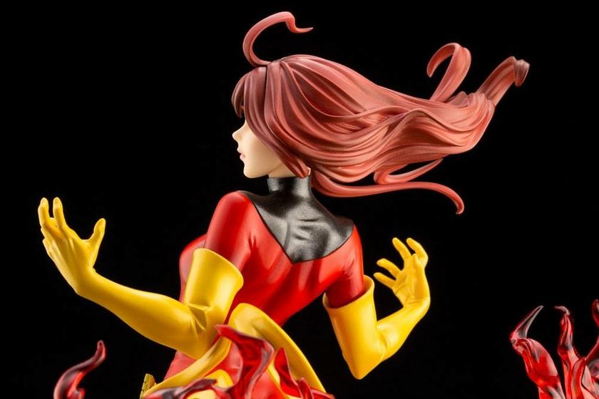 Statuette Marvel Bishoujo Dark Phoenix Rebirth 23cm 1001 Figurines (9)