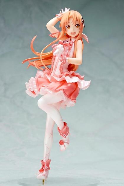 Statuette Sword Art Online II Asuna Aincrad Idol Ver. 20cm 1001 Figurines (2)