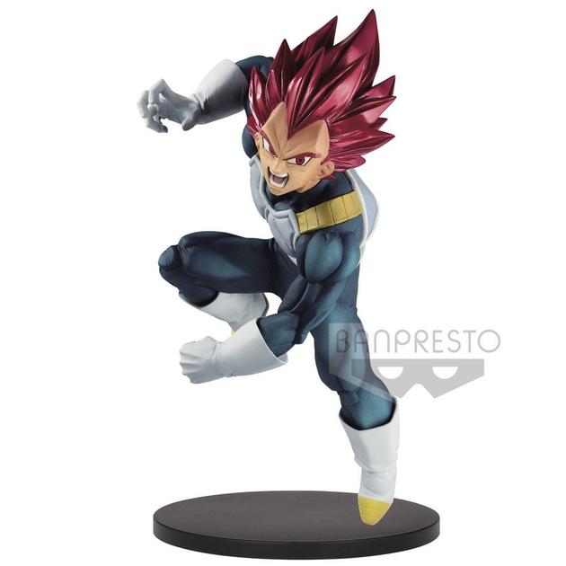 Statuette Dragon Ball Super Blood of Saiyans Super Saiyan God Vegeta Special VII 15cm 1001 Figurines (1)