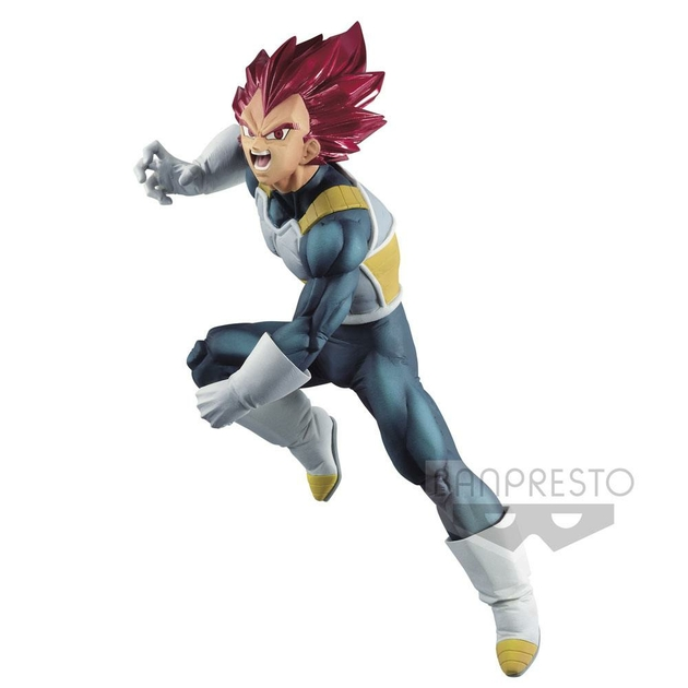 Statuette Dragon Ball Super Blood of Saiyans Super Saiyan God Vegeta Special VII 15cm 1001 Figurines (2)