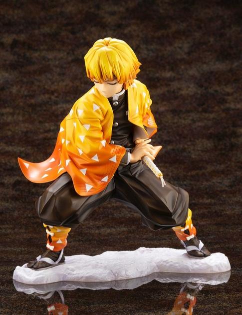 Statuette Demon Slayer Kimetsu no Yaiba ARTFXJ Zenitsu Agatsuma 17cm 1001 Figurines  (2)