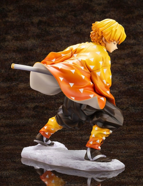 Statuette Demon Slayer Kimetsu no Yaiba ARTFXJ Zenitsu Agatsuma 17cm 1001 Figurines  (5)