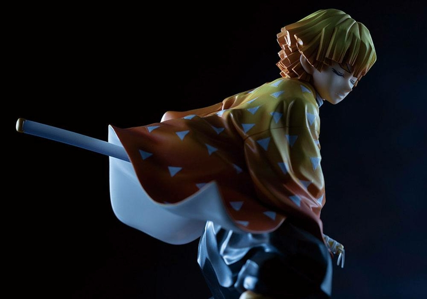 Statuette Demon Slayer Kimetsu no Yaiba ARTFXJ Zenitsu Agatsuma 17cm 1001 Figurines  (8)