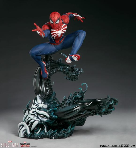 Statuette Marvel's Spider-Man - Spider-Man Advanced Suit 61cm 1001 Figurines (1)