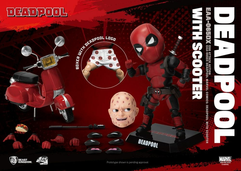 Figurine Marvel Comics Egg Attack Deadpool Deluxe Ver. 17cm 1001 Figurines (9)