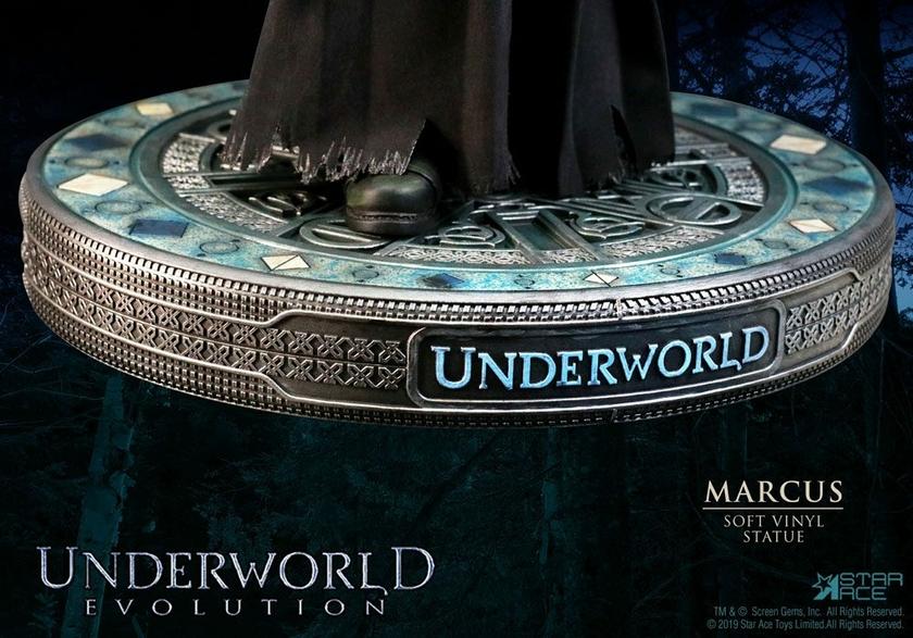 Statuette Underworld Evolution Soft Vinyl Marcus Deluxe Version 32cm 1001 Figurines (5)