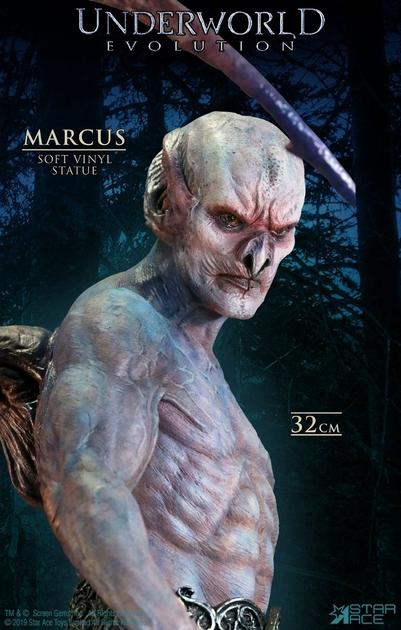 Statuette Underworld Evolution Soft Vinyl Marcus Deluxe Version 32cm 1001 Figurines (6)