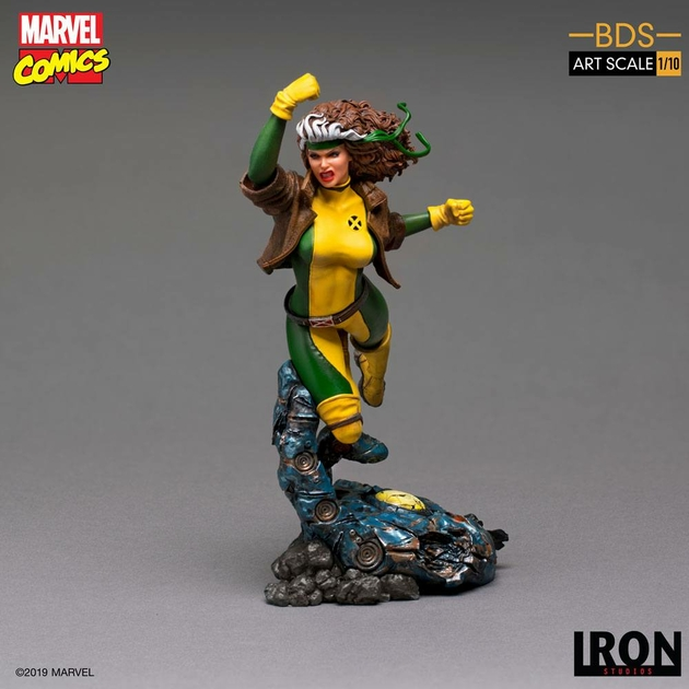 Statuette Marvel Comics BDS Art Scale Rogue 20cm 1001 Figurines (2)