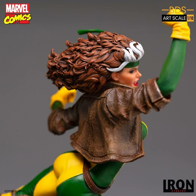 Statuette Marvel Comics BDS Art Scale Rogue 20cm 1001 Figurines (7)