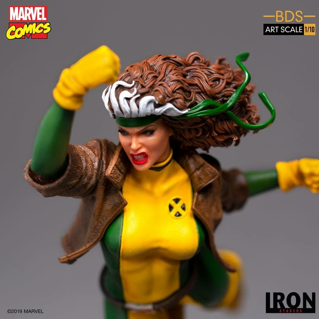 Statuette Marvel Comics BDS Art Scale Rogue 20cm 1001 Figurines (9)