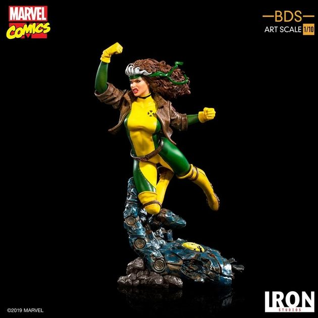 Statuette Marvel Comics BDS Art Scale Rogue 20cm 1001 Figurines (10)