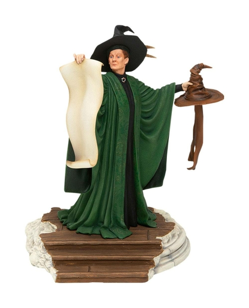 Statuette Harry Potter Professor McGonagall with Sorting Hat 25cm 1001 Figurines (1)