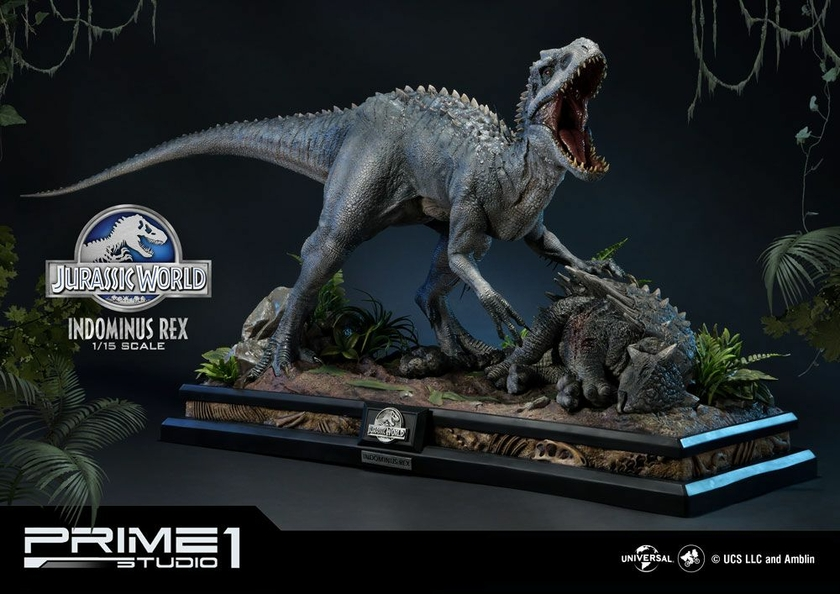 Statuette Jurassic World Fallen Kingdom Indominus Rex 105cm 1001 Figurines (1)