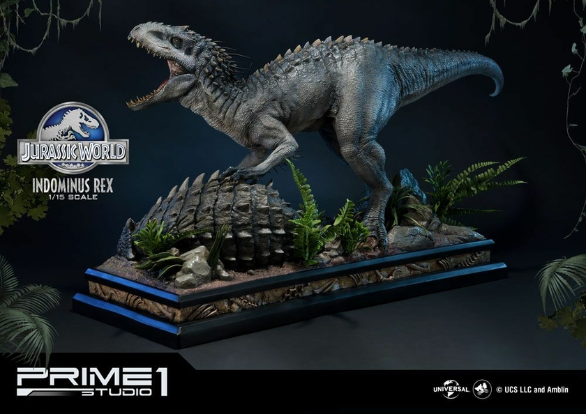 Statuette Jurassic World Fallen Kingdom Indominus Rex 105cm 1001 Figurines (3)
