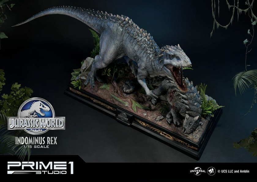 Statuette Jurassic World Fallen Kingdom Indominus Rex 105cm 1001 Figurines (5)