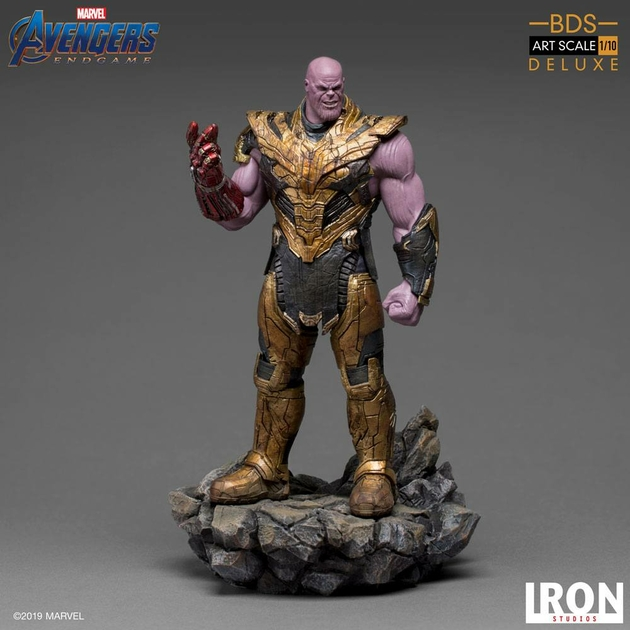 Statuette Avengers Endgame BDS Art Scale Thanos Black Order Deluxe 29cm 1001 Figurines (4)