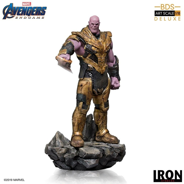 Statuette Avengers Endgame BDS Art Scale Thanos Black Order Deluxe 29cm 1001 Figurines (3)