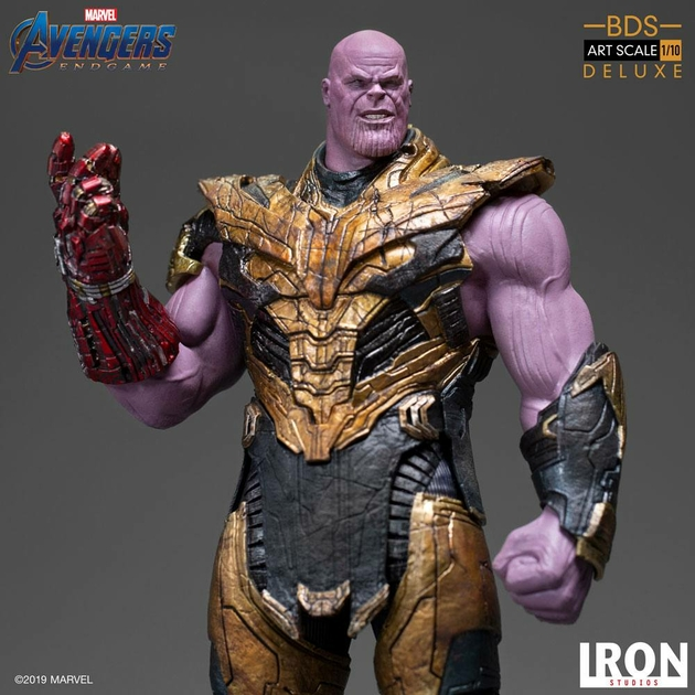 Statuette Avengers Endgame BDS Art Scale Thanos Black Order Deluxe 29cm 1001 Figurines (14)