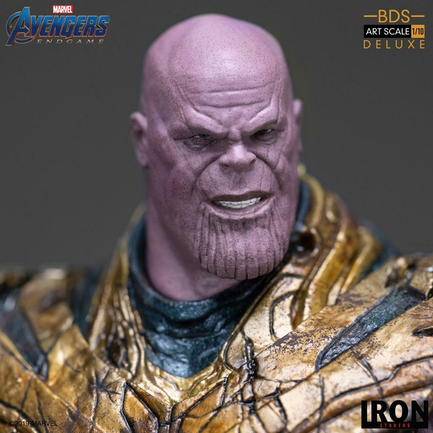 Statuette Avengers Endgame BDS Art Scale Thanos Black Order Deluxe 29cm 1001 Figurines (15)