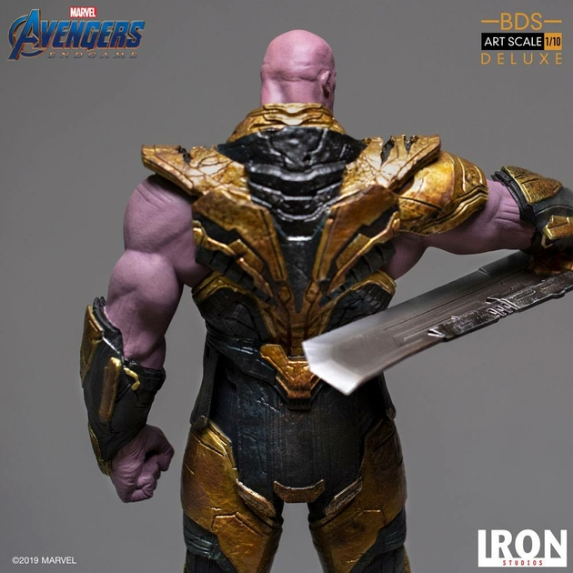 Statuette Avengers Endgame BDS Art Scale Thanos Black Order Deluxe 29cm 1001 Figurines (17)