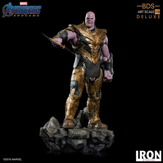 Statuette Avengers Endgame BDS Art Scale Thanos Black Order Deluxe 29cm 1001 Figurines (19)