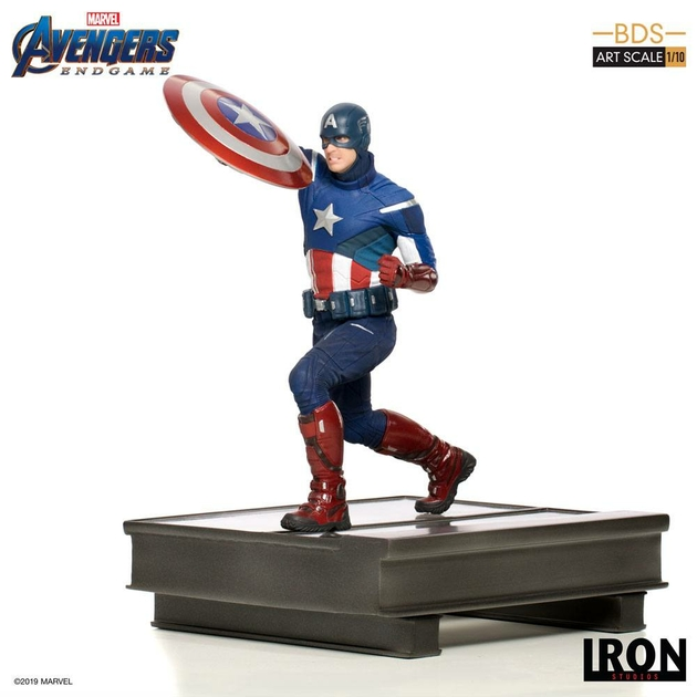 Statuette Avengers Endgame BDS Art Scale Captain America 21cm 1001 Figurines (1)