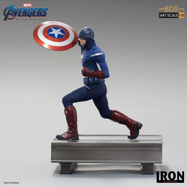 Statuette Avengers Endgame BDS Art Scale Captain America 21cm 1001 Figurines (3)