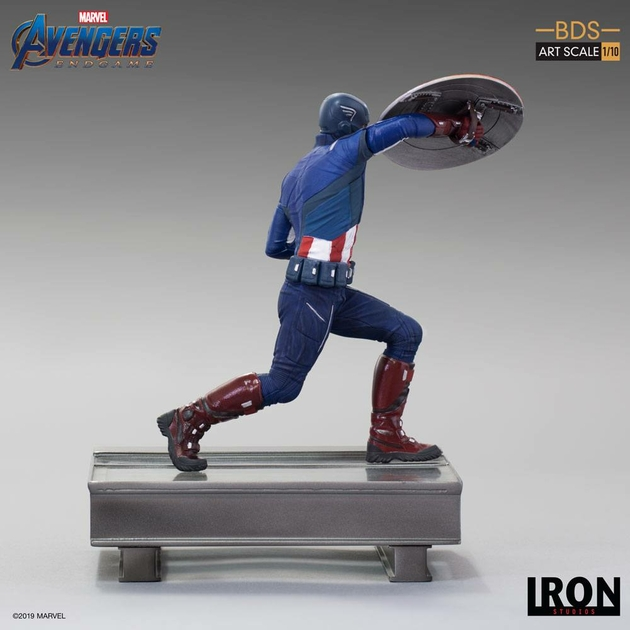 Statuette Avengers Endgame BDS Art Scale Captain America 21cm 1001 Figurines (5)