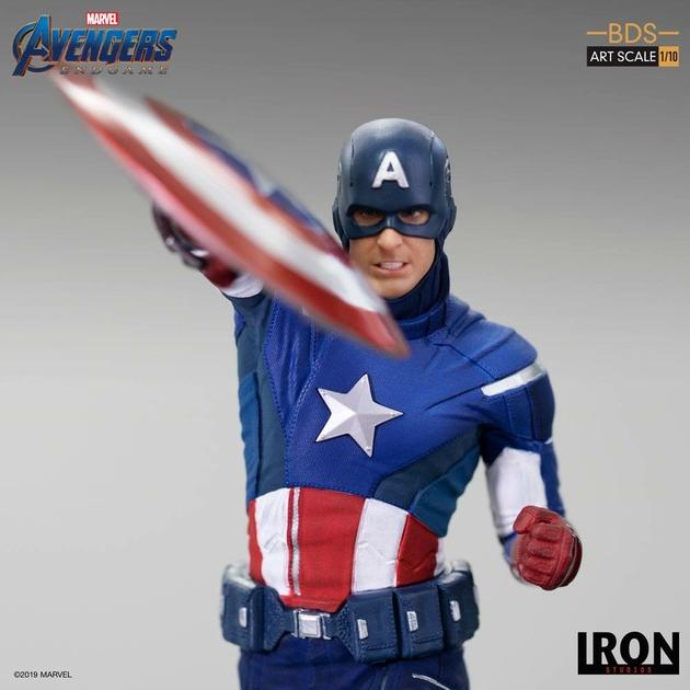 Statuette Avengers Endgame BDS Art Scale Captain America 21cm 1001 Figurines (7)